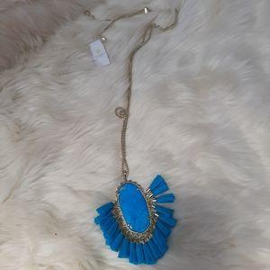 Karen Scott Betsy Blue Necklace NWT $150